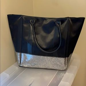 Satin and Sparkle tote bag
